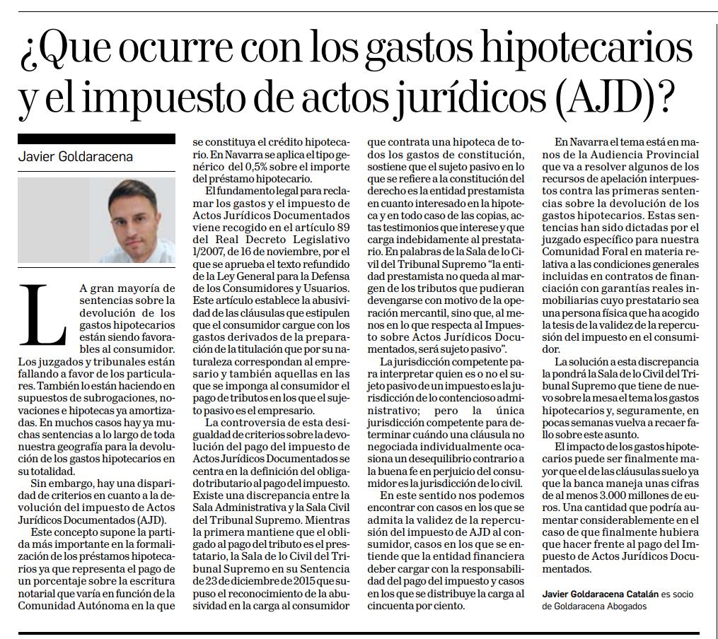 6a91c3951 Publicado en Diario de Navarra 25 de Enero 2018